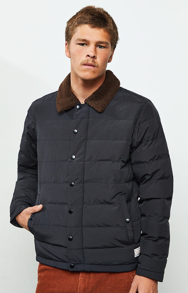 Bora Quilted Jacket // Black