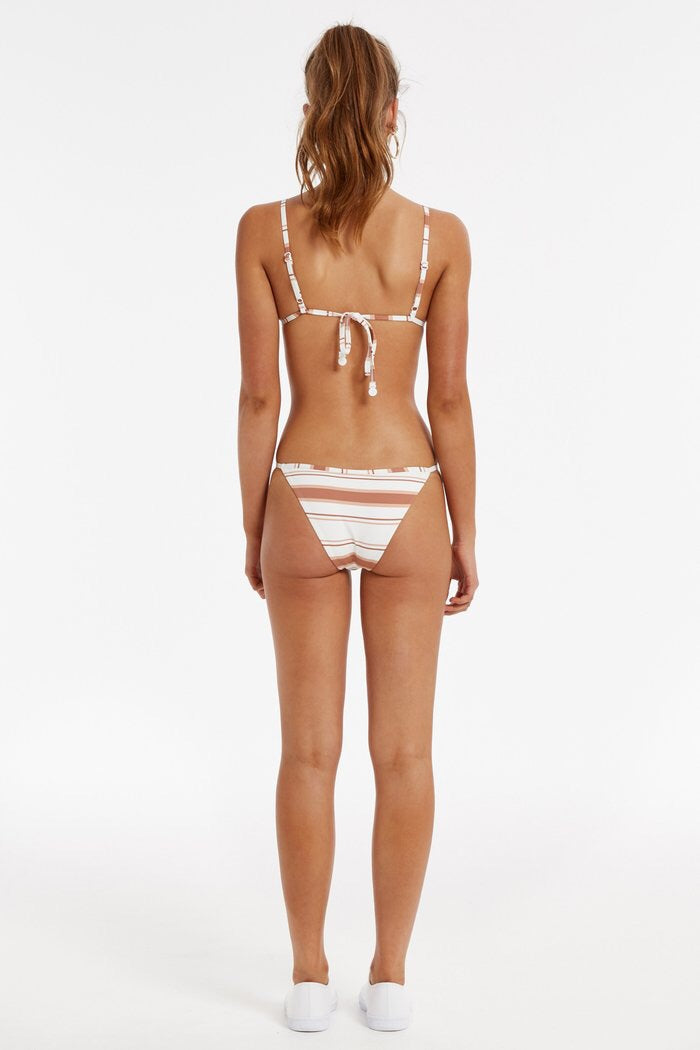 Distant Tri Cup Bikini Bottom // Multi