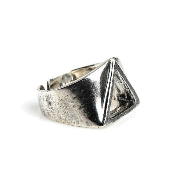 Trinity Ring // Oxidized Sterling Silver
