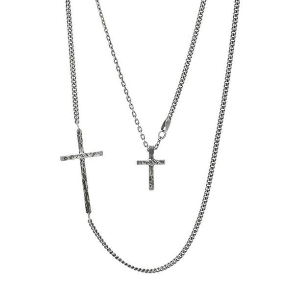 Cross necklace // Sterling Silver