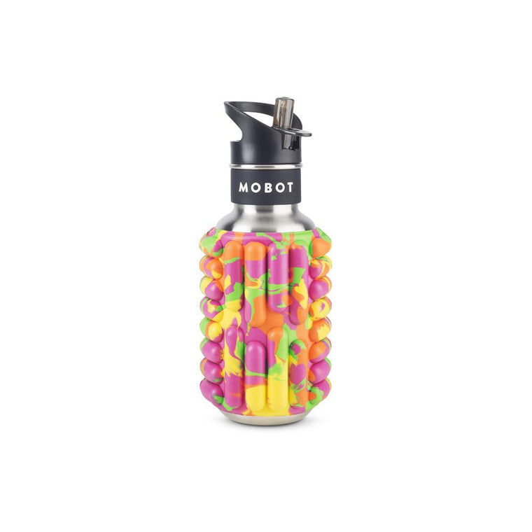 Firecracker 18oz - Foam Roller Water Bottle // Juicybot