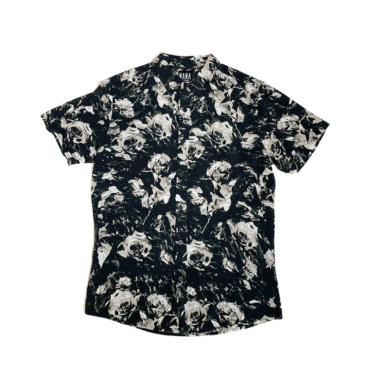 The Grove SS Shirt // Black Rose