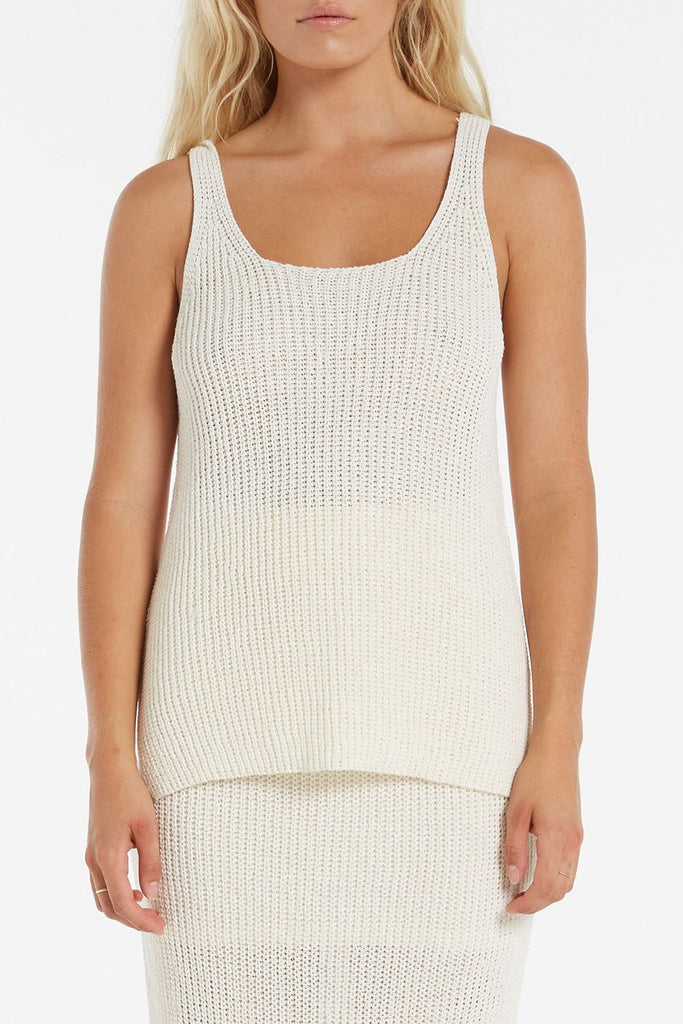 Husk Knit Tank // Natural