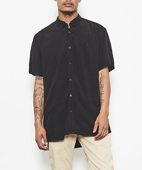 Whitehall SS Shirt // Black