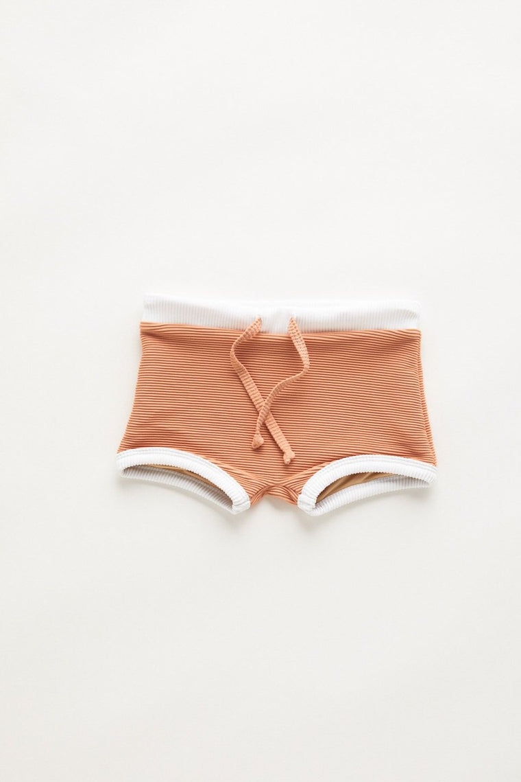 Mini Band Short // Terracotta