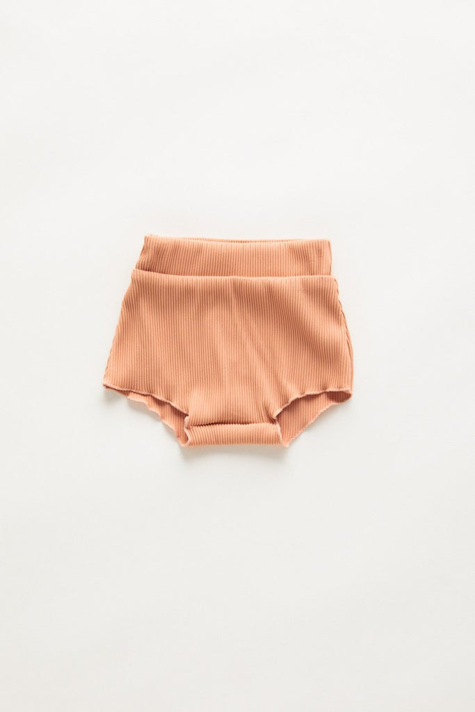 Mini Mermaid Edge Short // Terracotta
