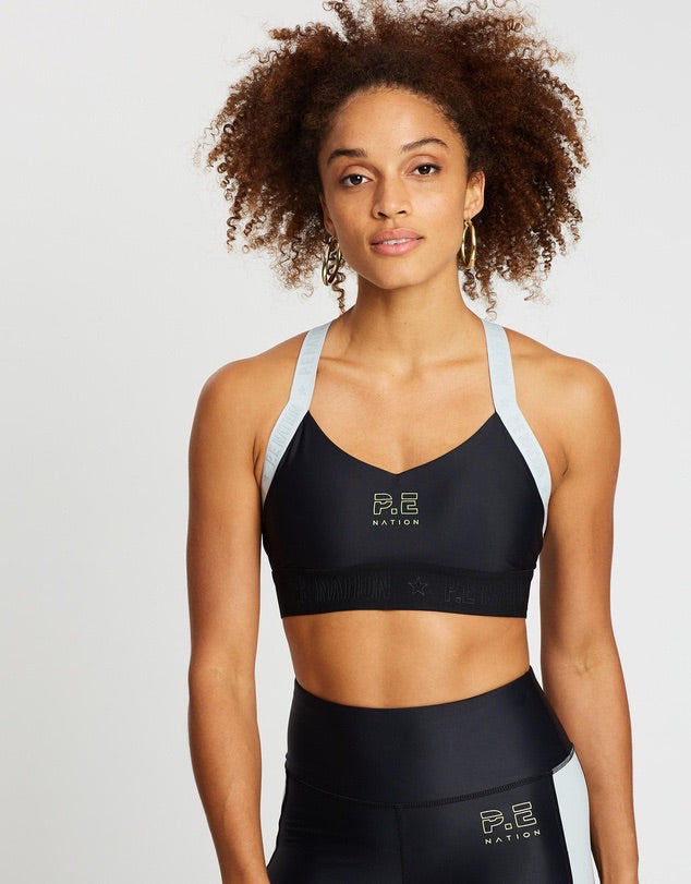 Bar Down Sports Bra // Black