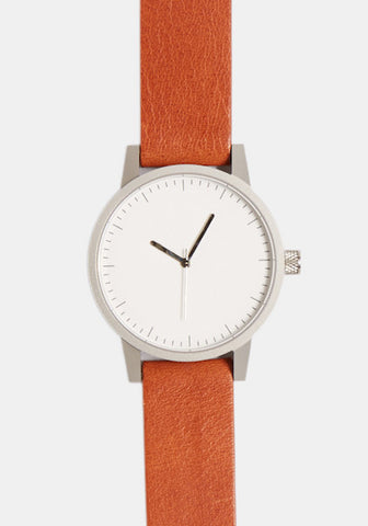 Kent // Tan Silver White 38mm