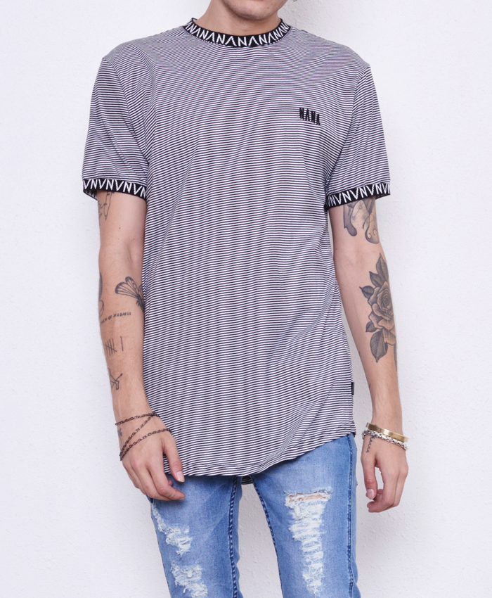 Black Rock Tee // Black & White