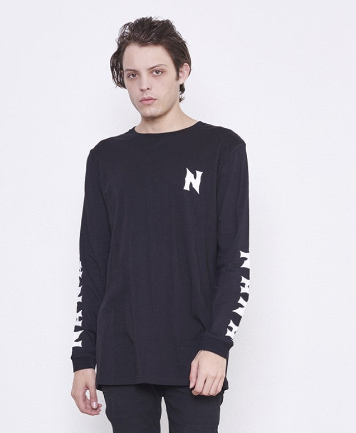 Cheap Thrills LS Tee // Black