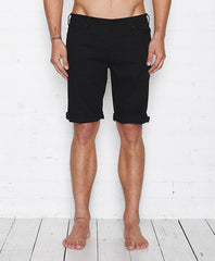 Vee Moto Short // Washed Black