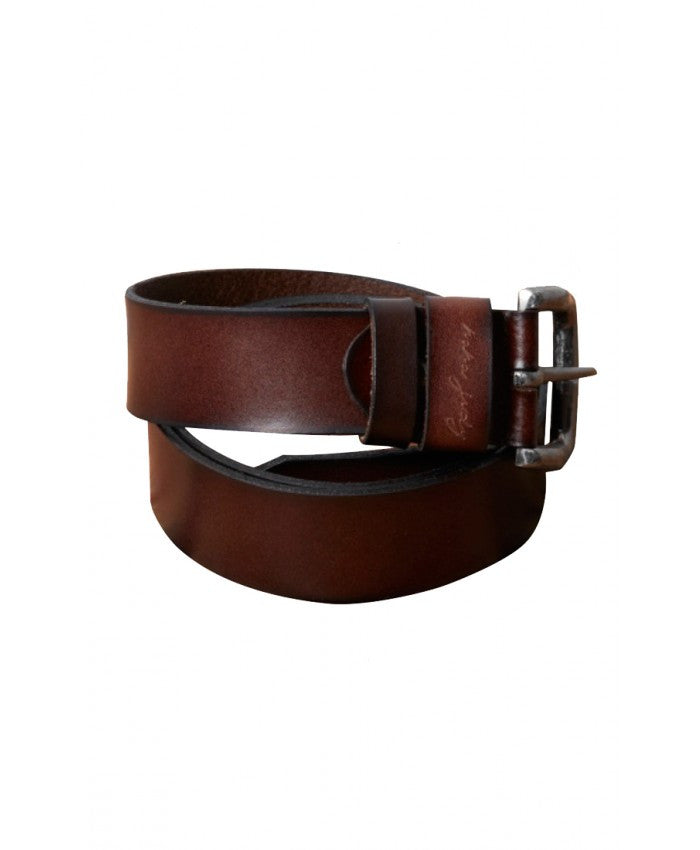 Leather Belt // Brown