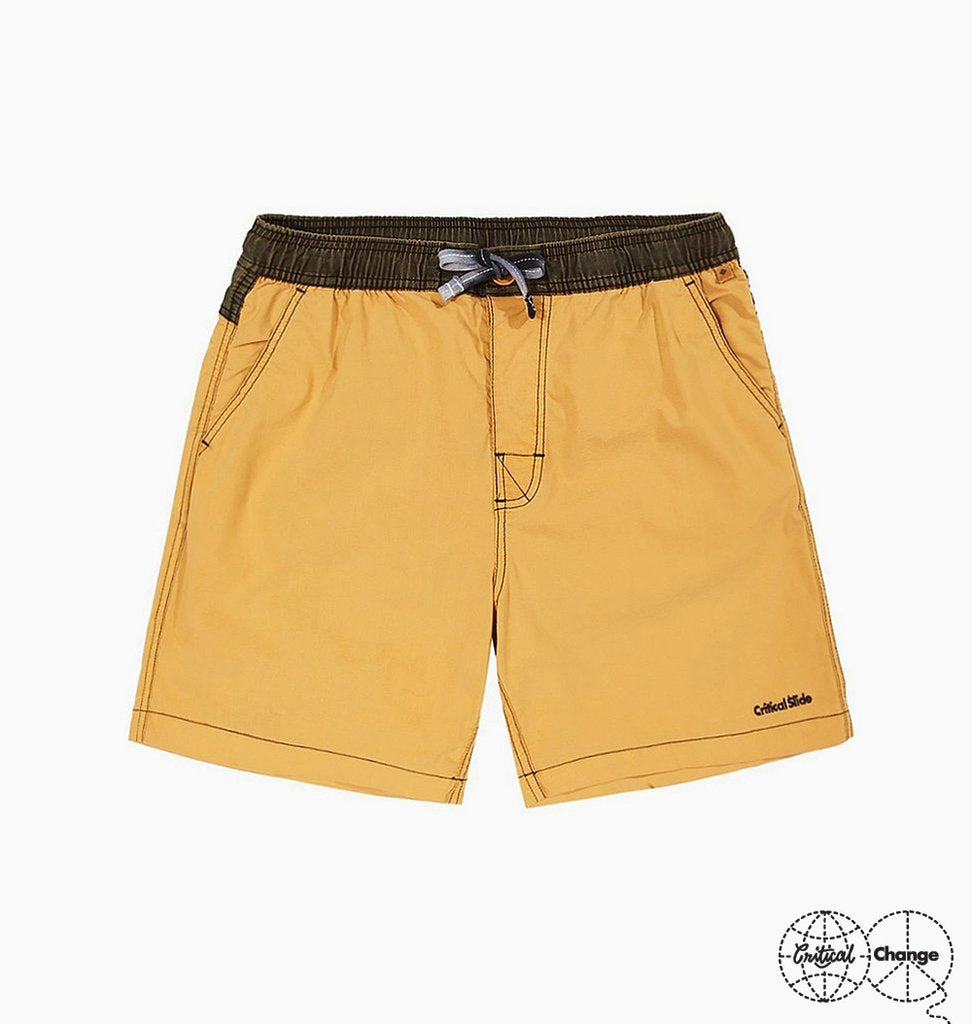 Plain Jane Boardshort // Amber Gold