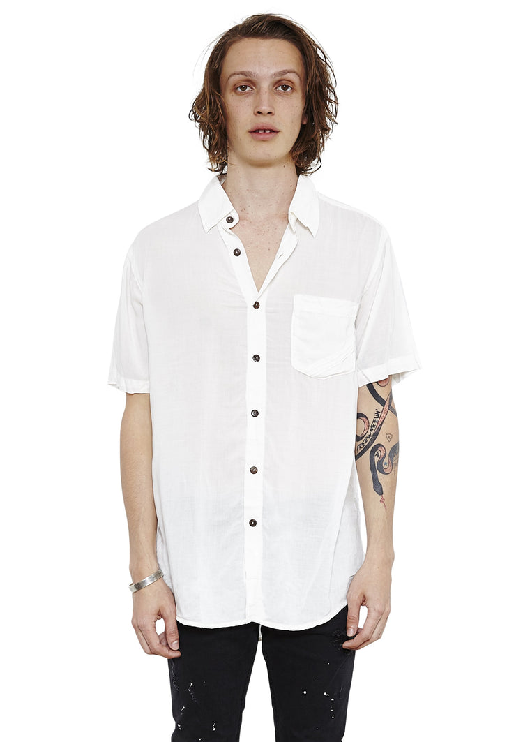 Stevie Shirt // White