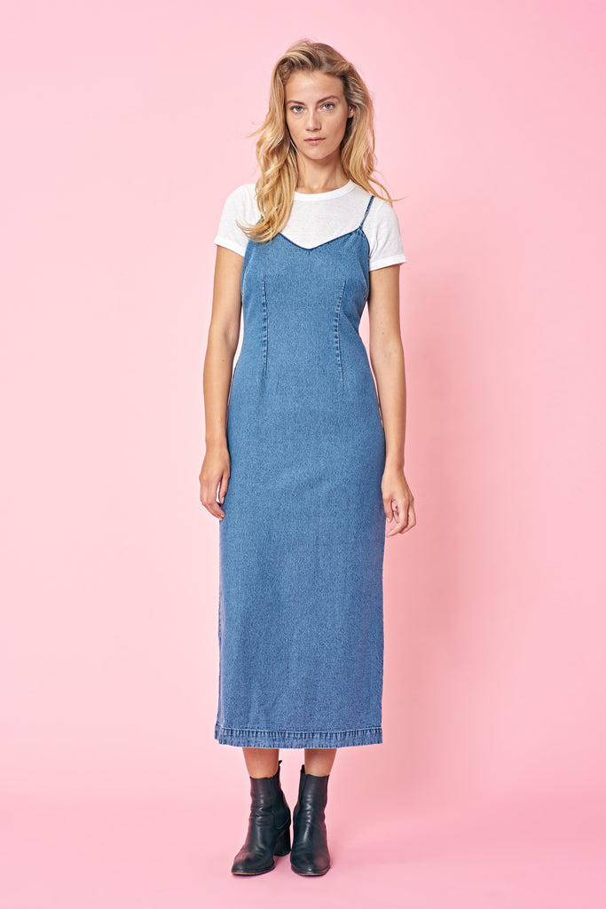 Taylor Dress // Washed Blue