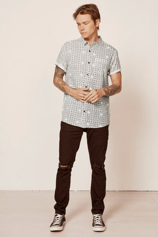 Beach Boy Shirt // Ganggajang White