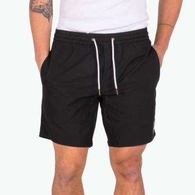Amphibious 17' Short // Black Ditzy
