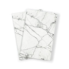 Notebook // White Marble