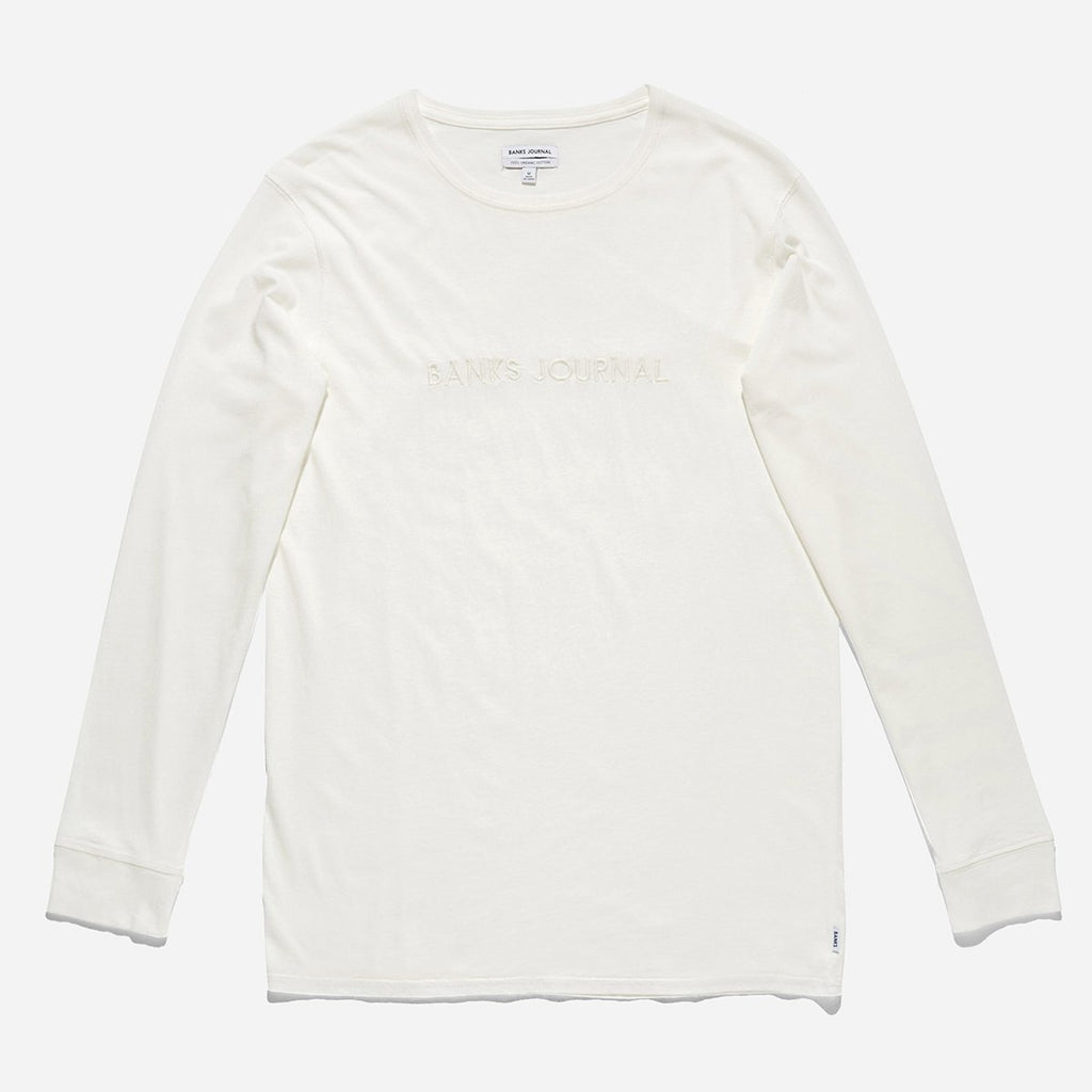 Label - L/S Tee // Off White