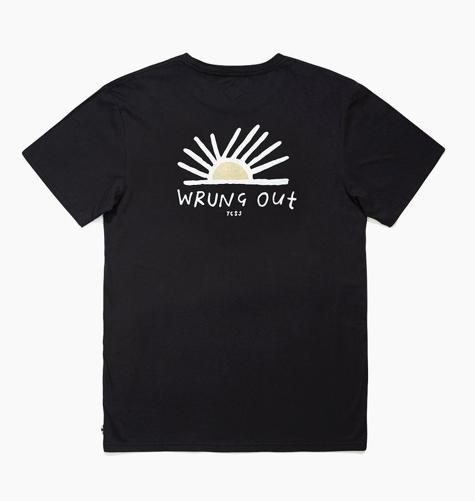 Wrung Out Tee // Black