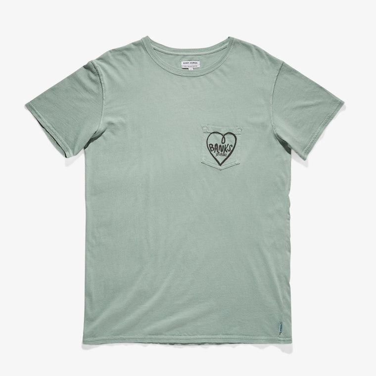 Heartland Tee Shirt // Mist Green