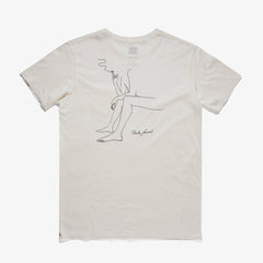 Catherine Rex Smoke Tee Shirt // Off White