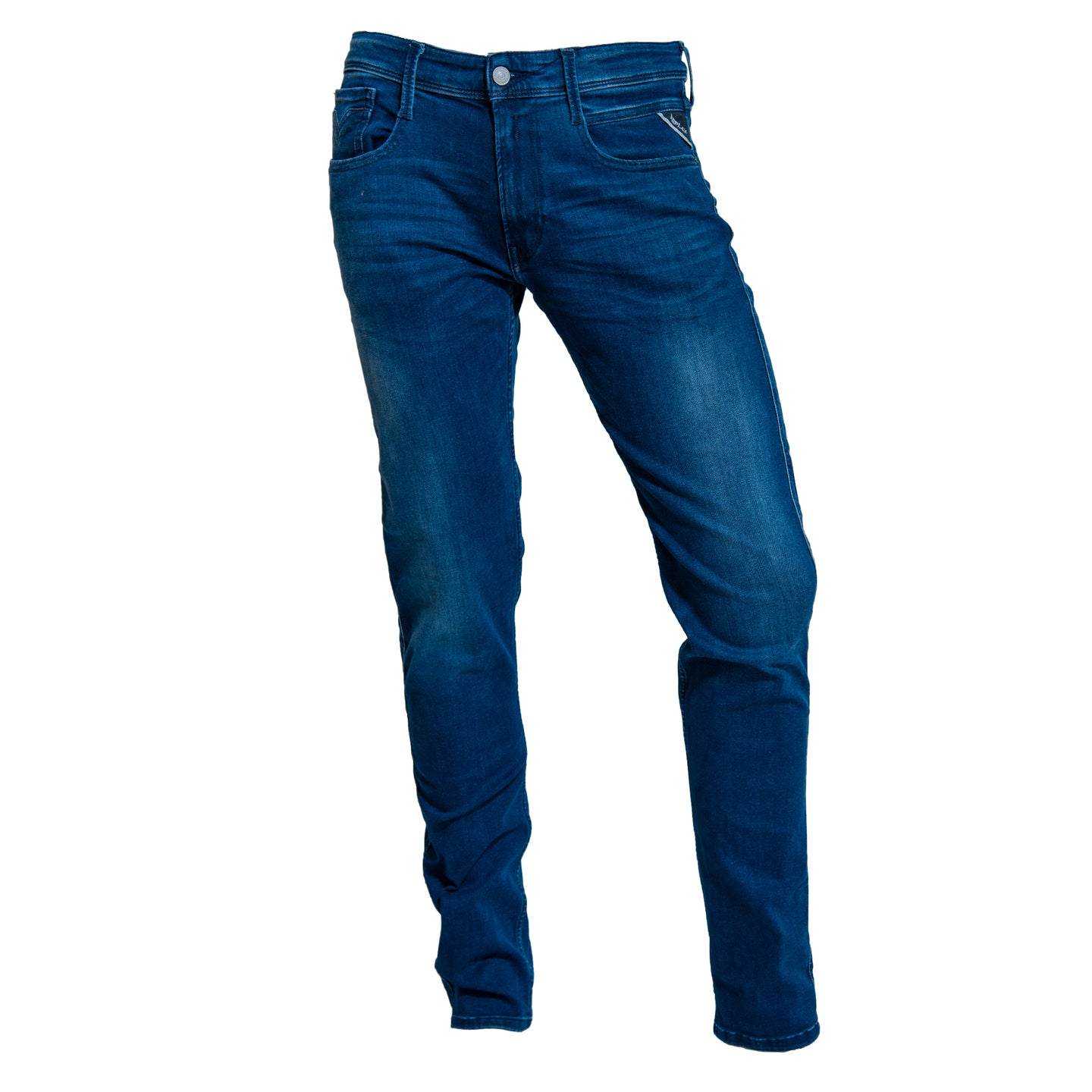 Replay Jeans Dark Indigo Anbass Power Stretch Denim