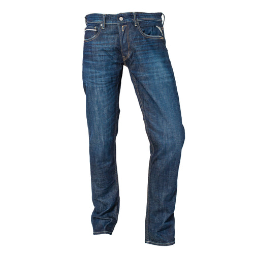Replay Grover Straight Jean Ιndigo Stretch Denim