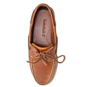 Timberland Classic Boat Shoe Brown Full Grain Δερμάτινο