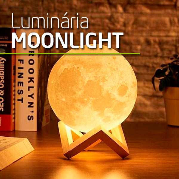 Luminaria MOONLIGHT 3D