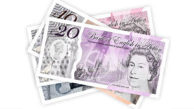 Freebies - English bank notes, great fun in the classroom!