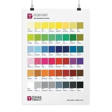 Load image into Gallery viewer, Colour Chart Poster - Teacher-Toolkit.co.uk
