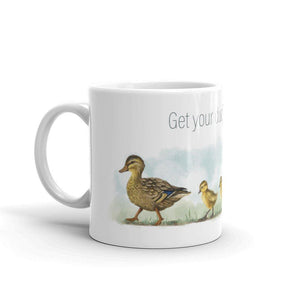 Ducks in a Row - Animal Idiom Mug - Teacher-Toolkit.co.uk
