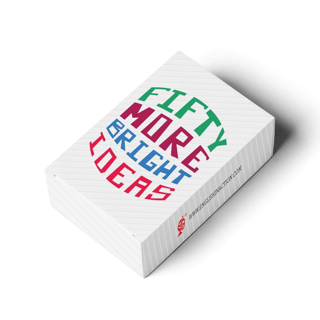 Fifty More Bright Ideas - Card Pack - Teacher-Toolkit.co.uk