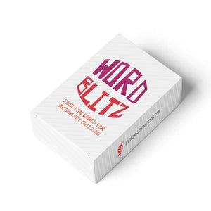 Word Blitz - Card Pack - Teacher-Toolkit.co.uk