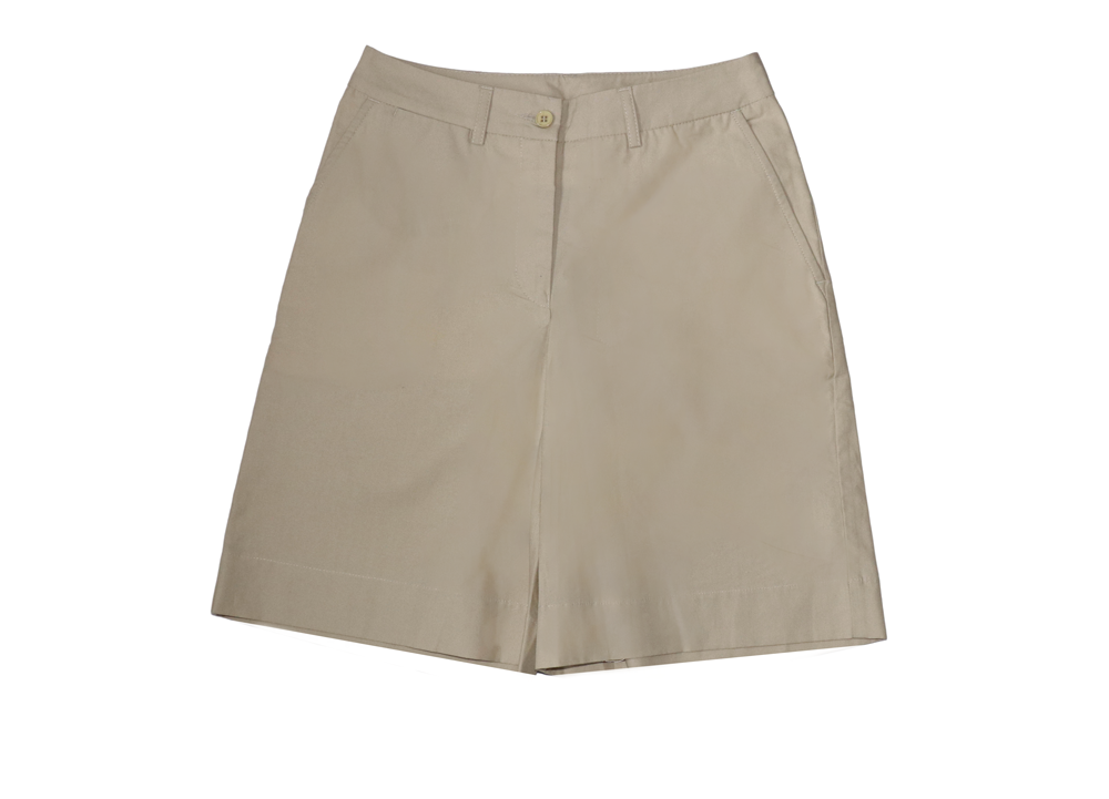 Ladies Shorts in Stone