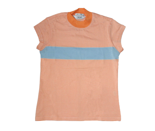 Ladies Turtle Top in Peach