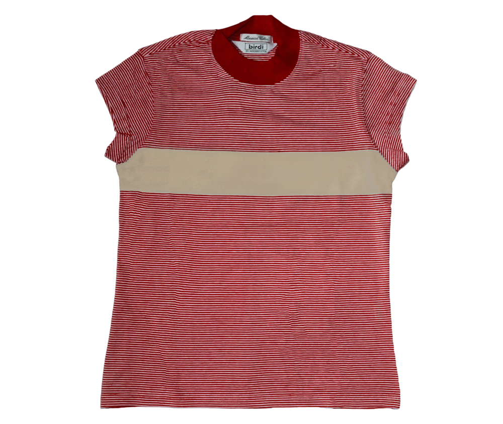 Ladies Turtle Top in Red