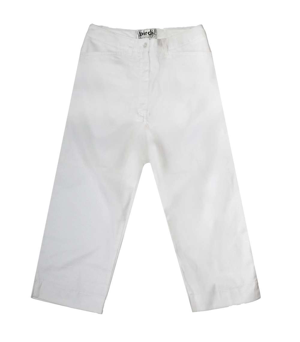 Ladies Capris in White
