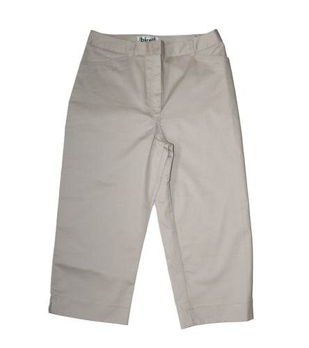 Ladies Capris in Stone
