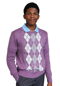 Men's Long Sleeve Jersey Lilac