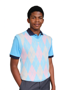 Men's Sleeveless Jersey Sky