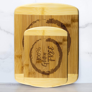 100% Gluten Free Labeled Cutting Board