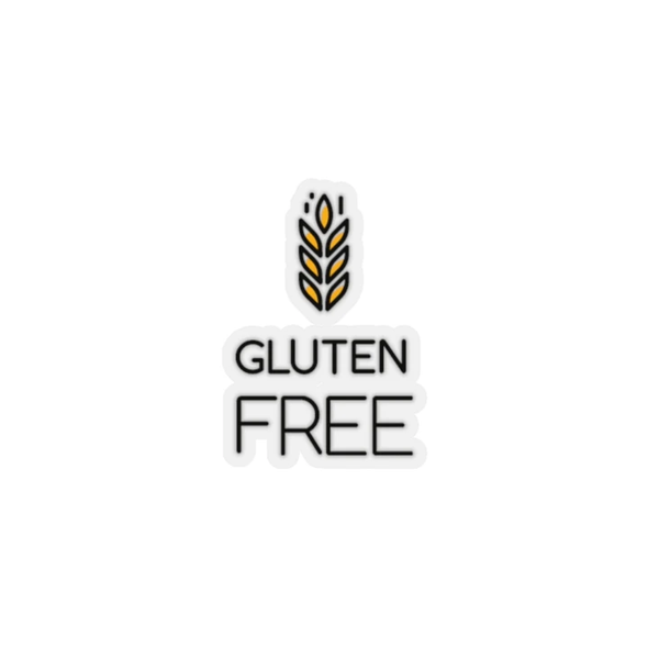 Gluten Free Kiss Cut Sticker