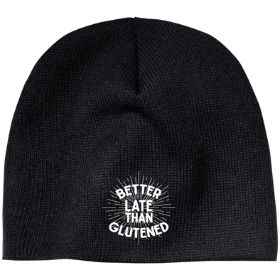 Better Late Than Glutened 100% Acrylic Beanie