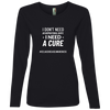 I Don't Need An Inspirational Quote - I Need - A Cure #CDA