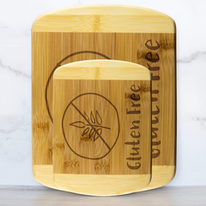 Gluten Free Labeled Cutting Board