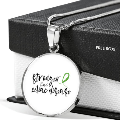 Stronger Than Celiac Necklace