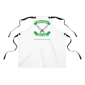 Clean Knives Save Lives Apron