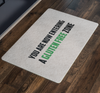 You Are Now Entering a Gluten Free Zone Doormat